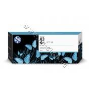 Мастило HP 83, Black (680 ml), p/n C4940A - Оригинален HP консуматив - касета с мастило