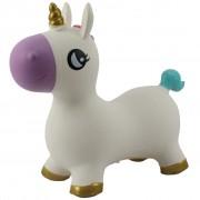 My Skippy Buddy Bouncy Animal Unicorn White 0724923