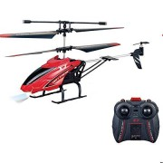 Kid's Velocity Control Flying Helicopter with Remote Controller and Unbreakable Blades Infrared Sensor
