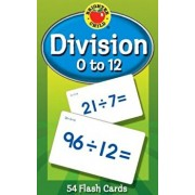 Division 0 to 12 Flash Cards, Paperback/Brighter Child