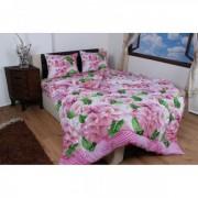 "Спално бельо ""Pink Flowers"" Ранфорс - 100% Памук"