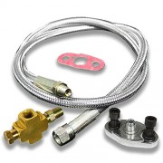 DNA Motoring OFL Stainless Steel Oil Feed Line