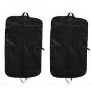 PRAHAN INTERNATIONAL Men's Coat Blazar Cover Bag Suit cover Pack of2 PIS-C2B016(Black)