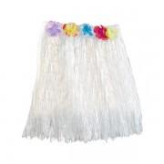 Havajská sukně - bílá