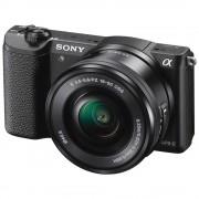 Sony A5100 Aparat Foto Mirrorless 24MP APSC Full HD Kit cu Obiectiv 16-50 F/3.5-5.6 OSS Negru