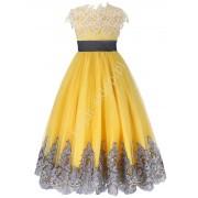 Lejdi Wyjątkowa sukienka dziewczęca eleganckie sukienki dla dziewczynek