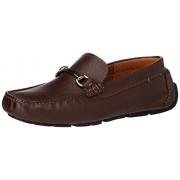 Clarks Men's Davont Ride Brown Tumb Leather Loafers and Mocassins - 8 UK