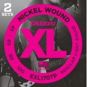 D'Addario EXL 170 2 Pack