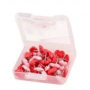 Punaises: mix van 50 roze en rode hartjes