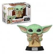 Funko Pre-Pedido Funko POP! Star Wars: Mandalorian The Child Baby Yoda w/ Frog