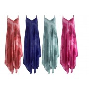 Want Clothing LTd £8.99 for a women's tie dye harem dress in fuchsia, grey, lime green, mint, navy and red in one size fits UK 8-16 from Want Clothing!