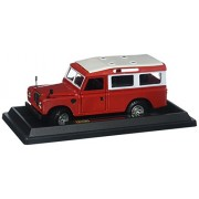Bburago Collection Land Rover Red Diecast Vehicle