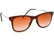 Stacle Wayfarer Sunglasses(Brown)