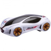 New Pinch Bump and Go Racing concept car comes with 3D light and Music (multicolor)