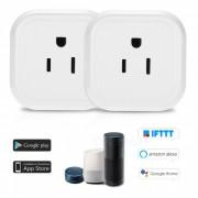 mini conector inteligente wi-fi con control de voz para amazon alexa? google home / nest IFTTT? tp-link (conector para 2 PCS / US)