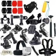 42-en-1 kit de accesorios de la camara para GoPro Hero? SJ4000? SJ5000? SJCam