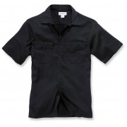 Carhartt Twill Work Camisa de manga corta Negro L