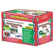 Photographic Learning Cards Boxed Set, Early Learning Skills, Grades K-12, Sold as 1 Box