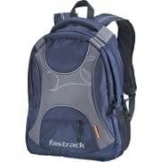 Fastrack Laptop Backpack(Grey, Blue)
