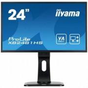 IIYAMA 24'' XB2481HS-B1 SLIM AMVA+, HDMI, DVI, PIVOT, Głośniki