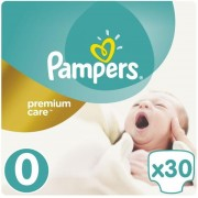 Scutece Pampers 0 New Baby Premium Care (30)