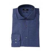 BOSS Mark Sharp Fit Dress Shirt NVY