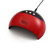ROSEGIN 36W UV/LED műkörmös lámpa - piros