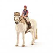 Schleich North America Recreational Rider with Horse Toy Figure