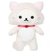 "Rilakkuma by San-X - Korilakkuma 13.5"" Cat Standing plush, doll, stuffed animal Authentic Licensed Product"
