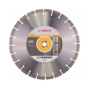 Bosch - Expert for Universal - Disc diamantat de taiere segmentat, 350x25.4/20x3.2 mm, taiere uscata, calitate medie