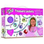Set creativ pentru fetite Treasure Lockets, 5 ani+
