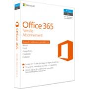 Office 365 Famille - 5 PC/Mac + 5 tablettes + smartphone - Abonnement 1 an