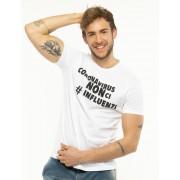 Seconda Strada T-Shirt In Cotone Bianco