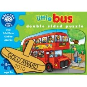 Puzzle Fata/Verso - Autobuz (12 Piese) - Orchard Toys (301)