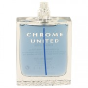 Azzaro Chrome United Eau De Toilette Spray (Tester) 3.4 oz / 100.55 mL Men's Fragrance 515728