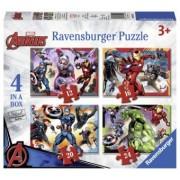 Puzzle Copii 3Ani+ avengers 12/16/20/24 piese