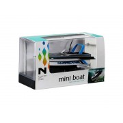 Mgs33 Rc Mini Boat Hurricane Utmost Spurt (Silver-Blue)-Mgs33