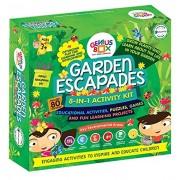 Genius Box Learning Toys for Children - Garden Escapades Activity Kit, Multi Color