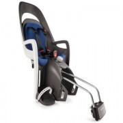 hamax Fietsstoel Caress C2 met afsluitbare houder grijs/wit/blauw