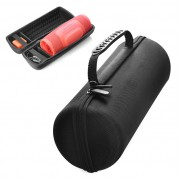 Portable Nylon Bag Shockproof Bluetooth Speaker Protection Bag for JBL Charge 4 - Black