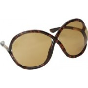 Tom Ford Round Sunglasses(Brown)