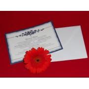 invitatii nunta cod 60363
