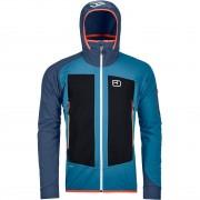 Ortovox Men Jacket Col Becchei blue sea