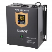 UPS pentru centrale termice PRO Sinus KEMOT, 700 W, negru