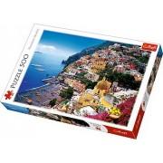 Puzzle clasic - Peisaj Positano Italia 500 piese