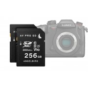 ANGELBIRD AVPro Match Pack for Panasonic GH5 / GH5S / S1 / S1H 2 X 256GB SDXC UHS-II CLASS10 V90