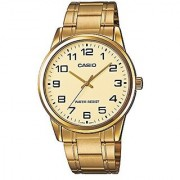 Casio Enticer Analog Gold Dial Mens Watch-MTP-V001G-9BUDF (A1083)