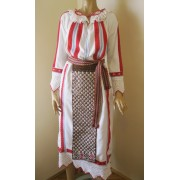 Romanian traditional costume from Banat, Romanian peasant costume size S/M