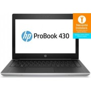 "Laptop HP Probook 430 G5 (Procesor Intel® Core™ i3-7100U (3M Cache, up to 2.40 GHz), Kaby Lake R, 13.3"" FHD, 4GB, 128GB SSD, Intel® HD Graphics 620, Wireless AC, Argintiu)"