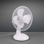 Bergen table fan, height 36 cm, white